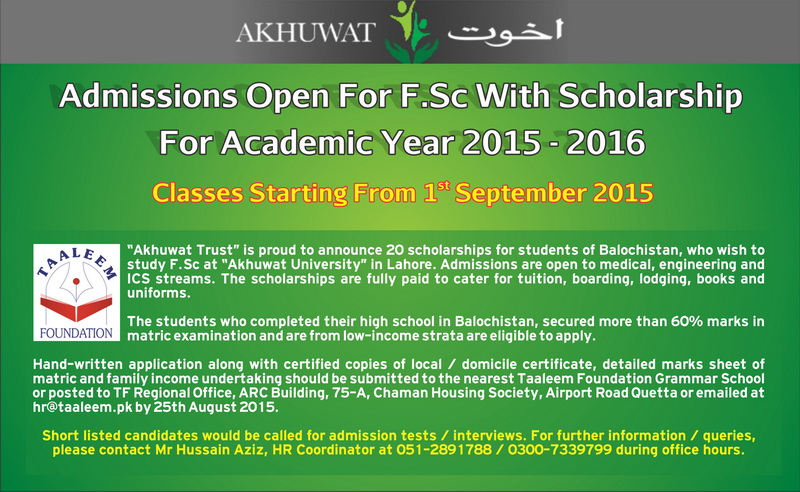 Opportunity for Students